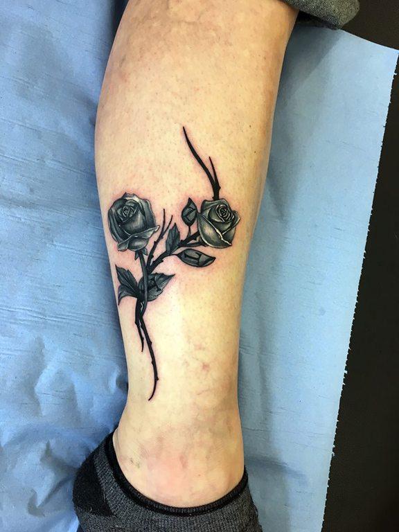 Quelle Couleur Pour Votre Tatouage De Rose Crock Ink Tatouage