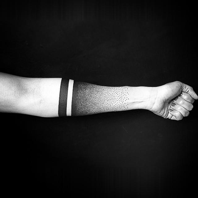 Galerie Les Tattoos à Bandes Noires Crockink Tatouage Bonneuil