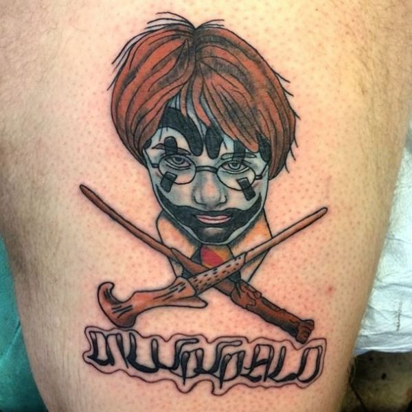 Tattoos Harry Potter  quand tatouage rime avec Poudlard