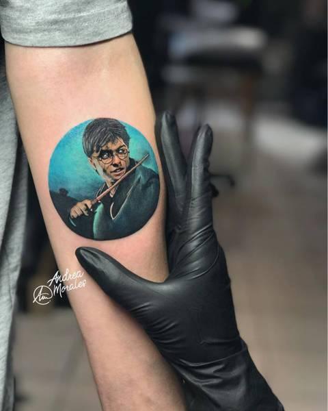 Tattoos Harry Potter  quand tatouage rime avec Poudlard