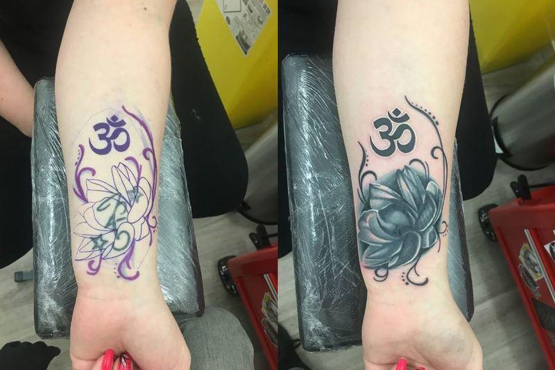 Vos Recouvrements De Tatouages Crock Ink Tatouage Bonneuil