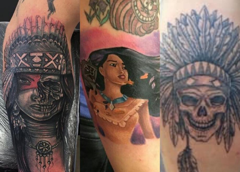 Les Indiens D Amérique Dans Le Tatouage Crock Ink Tatouage